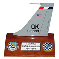 963 AACS E-3 Airplane Tail Flash