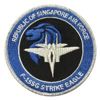 RSAF F-15SG Strike Eagle Patch