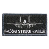 RSAF F-15SG Strike Eagle Pencil Patch