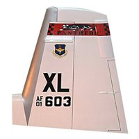 84 FTS T-6 Airplane Tail Flash