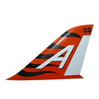 VT-9 T-45 Airplane Tail Flash