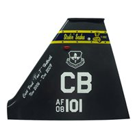 50 FTS T-38 Airplane Tail Flash