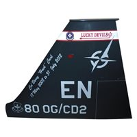 88 FTS T-38 Airplane Tail Flash