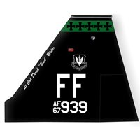 1 OSS T-38 Airplane Tail Flash