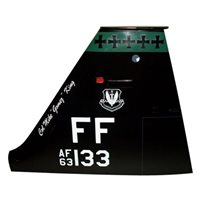 1 FW T-38 Airplane Tail Flash