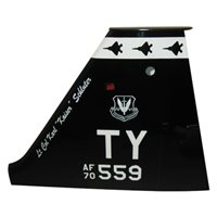 325 TRSS T-38 Airplane Tail Flash