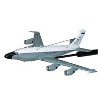 55 WG RC-135 Rivet Joint Custom Airplane Model Briefing Sticks
