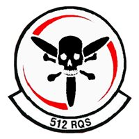 512 RQS HH-60 Helicopter Tail Flash
