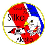 CGAS Sitka MH-60 Helicopter Tail Flash