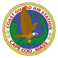 CGAS Cape Cod MH-60 Helicopter Tail Flash