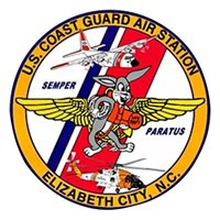 CGAS Elizabeth City MH-60 Helicopter Tail Flash