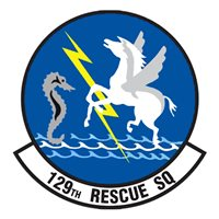 129 RQS HH-60 Airplane Tail Flash