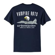 44 FS Navy T-Shirt Back Design