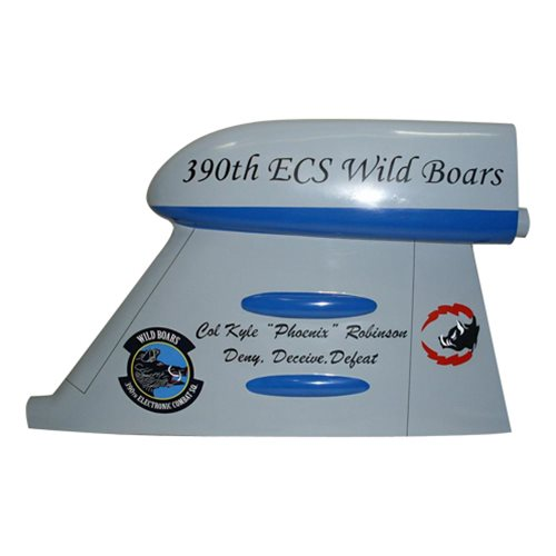 390 ECS EA-6B Prowler Custom Airplane Tail Flash