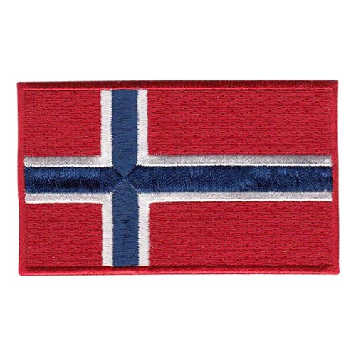 Norway Flag Color Patch