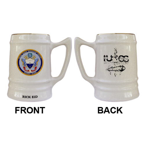 Custom Naval Ocean Processing Facility Military Mugs - View 2