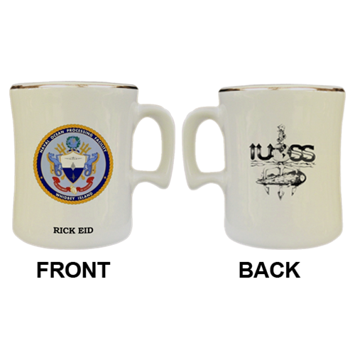 Custom Naval Ocean Processing Facility Military Mugs - View 3