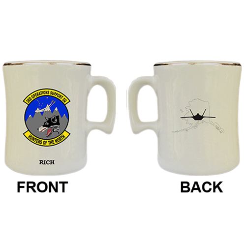 Custom 3rd Operations Support Squadron Military Mugs