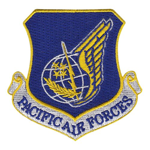 PACAF Patch  - View 2