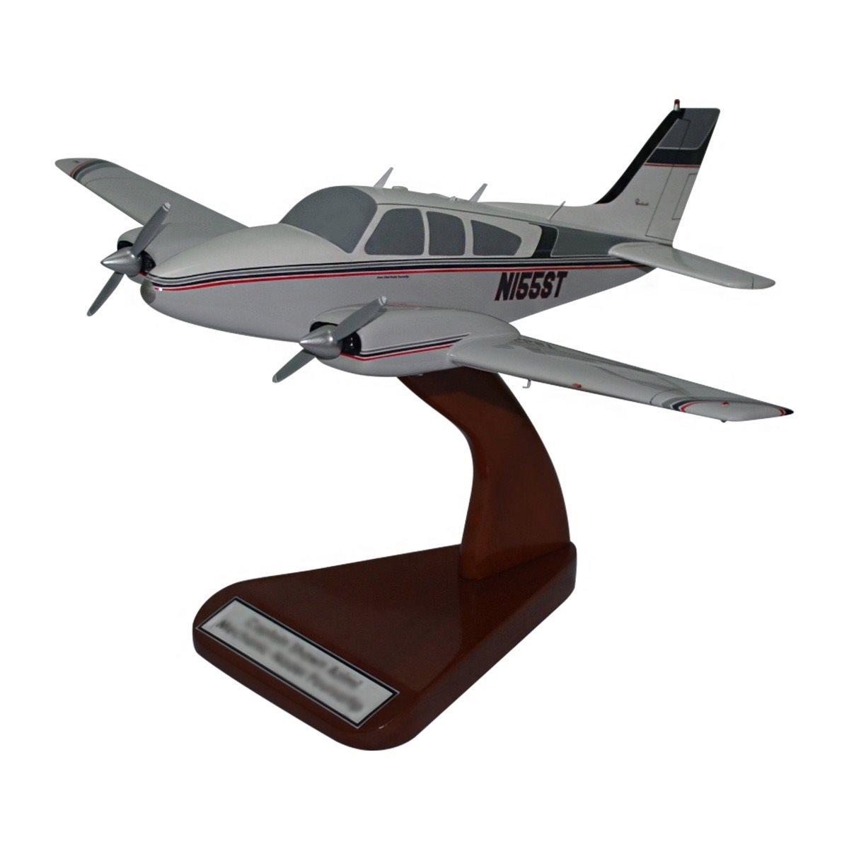 Custom Wooden Airplane Desktop Models