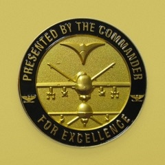Gold Commander Challenge Coin