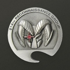 214th Reconnaissance Group Challenge Coin