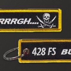 428th Fighter Squadron Key Flag Jet Tags