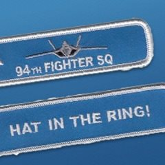 994th Fighter Squadron F-22 Raptor Remove Before Flight Keychains