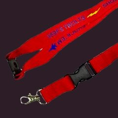 Aviator Gear Custom Lanyard with Safety Breakaway and Lobster Clasp