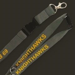 Aviator Gear Custom Lanyard Lobster Clasp and Safety Breakaway