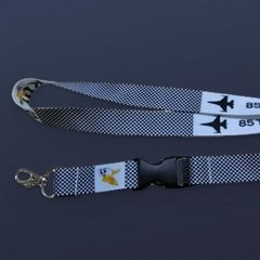 Aviator Gear Custom Nylon Lanyard with Lobster Clasp