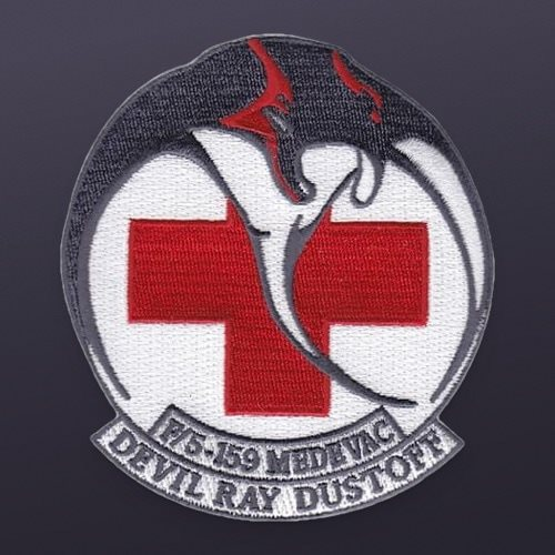 F Company 5-159 GSAB Devil Ray Dustoff Patch