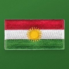 Kurdistan Flag Pencil Patch