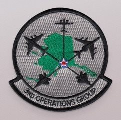 3rd Operations Group Aircraft Patch