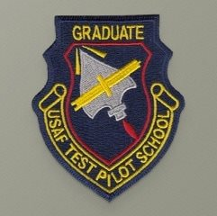 USAF Test Pilot School Graduate Patch