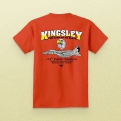 Kingsley 114th Fighter Squadron Shirt
